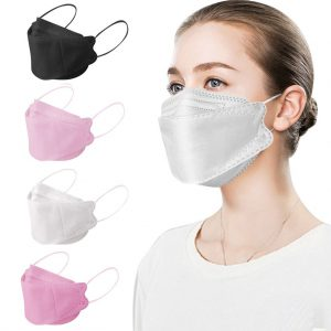 #protective mask 1pcs Adult Outdoor Mask Droplet And Haze Prevention Fish Non Woven Face Reusable Respirators Mask mascarillas F