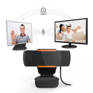 2020 Rotatable HD Webcam PC Mini USB 2.0 Web Camera Video Recording High definition with with 12.0M pixels and true color images
