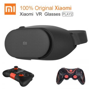 100% Original Xiaomi VR Play 2 Virtual Reality 3D Glasses Headset Xiaomi Mi VR Play2 4.7- 5.7 Phone With Cinema Game Controller