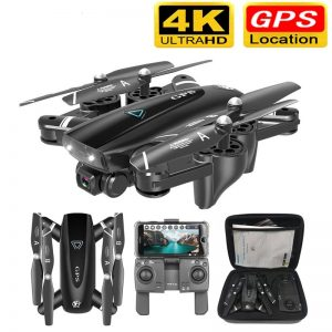 GPS Drone With Camera 5G RC Quadcopter Drones With 4K HD Camera WIFI FPV Foldable Off-Point Flying Photos Video Dron Helicopter