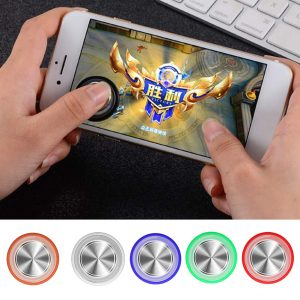 1 pcs Ultra-thin Mini Game Controller Mobile Joystick V3 For Smart Phone Tablet Ipad Games  Accessories for  Phone Gaming