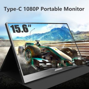 15.6″ Portable Monitor Touch HD 1080P Type-C HDMI Gaming Monitor Dual Speaker Gaming PC Monitor IPS LCD Display Portable Monitor