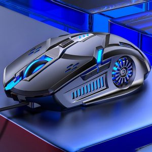 6D Led Optical Usb Wired Gaming Mouse 4 speed DPI Gamer Laptop Computer Mice ACE
