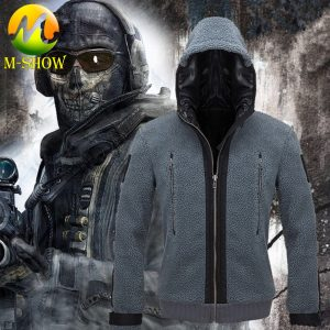 Game Call of Duty Cosplay Costume Ghost Battle Suit Green Hoodies  Jacket for Adult TF 141 Team Uniform for Men and Women