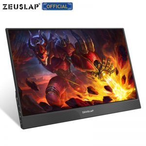 15.6″ portable monitor lcd hd HDMI USB Type C display for PC laptop phone PS4-switch-XBOX 1080p gaming monitor ips screen