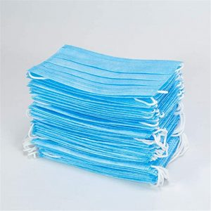50pc In stock! Disposable Mouth Face Masks Anti Pollution Dust Mouth Caps 3-Layer Meltblown Cloth Breathing Hygiene Mask