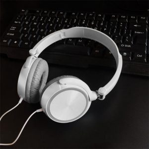 Wired Headphone Potable Gaming Headset With Microphone 3.5mm Soft Cover Pad For Mobile Phone Smartphone Laptop