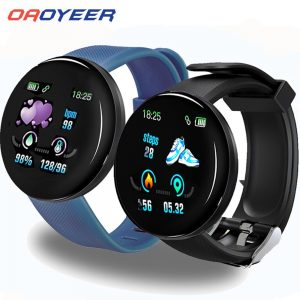 D18 Bluetooth Smart Watch Men Women Blood Pressure Smartwatch Sport Tracker Pedometer 116 Plus Smart Watches For Android IOS A2