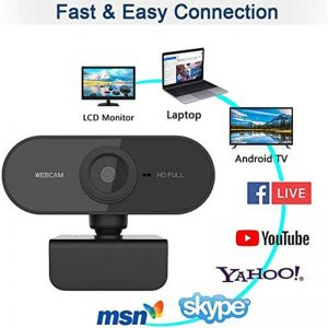 1080P Webcam Conference PC Web Camera With Mic Interface Web Camera For Video Calling Network Teaching Office Meeting