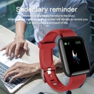 D13 Smart Watches 116 Plus Heart Rate Smart Watch Wristband Sports Watches Smart Band Waterproof watch Android A2 Dropshipping