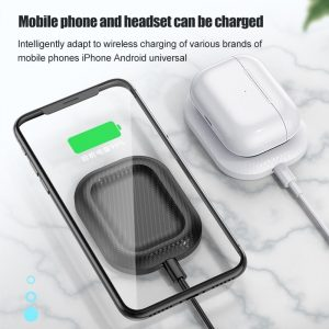 2 in 1 7.5W QI Wireless Charger Dock Station Pad For Apple Airpods 2 AirPods Pro iPhone X 8Plus XS XR Xs 11 Pro Max Charge Base
