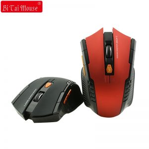 Bts 2.4G Wireless mouse Optical  6 Buttons mouse gamer USB Receiver 1600DPI 10M wireless Mouse  gaming mouse For Laptop computer