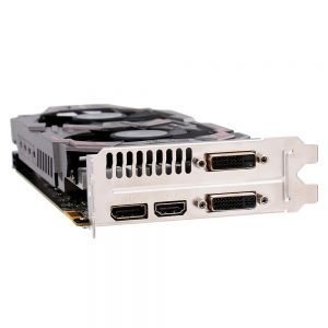Colorful Video Card GTX950-Twin-2GD5 Graphics Card 128bit 6600MHZ GDDR5 (Used/Second-hand) for NVIDIA