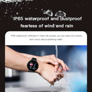 2020 D18 Smart Watch Men Women Blood Pressure Round Smartwatch Sport Watches Fitness Tracker For Android IOS Electronics Clock