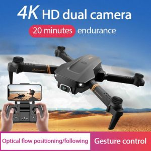 4k Profesional Mini Drone Remote Control Aircraft Drone Aerial Photography Folding Quadcopter 1080P Dual/Without Camera Boy Gift