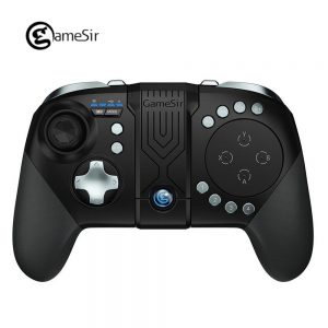 GameSir G5 Wireless Bluetooth Game Controller with Trackpad for Android Mobile Phone Games for FPS MOBA RoS Call of Duty Mobile