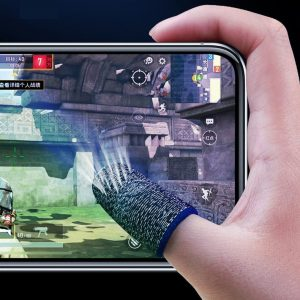 2 Pcs Gaming Finger Sleeve Mobile Screen Game Controller Sweatproof Gloves PUBG COD Assist Artifact Games Accessories