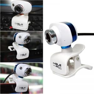 Computer Camera WebcamUSB 2.0 480P Laptop Computer Clip-on USB Rotatable Night Vision HD Live Webcam Video Online Class With MIC