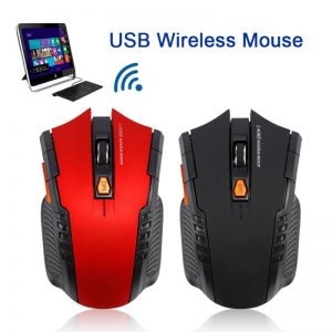 2.4G Wireless Mouse Optical Mouse Gamer USB Receiver 1600DPI 10M Wireless Mouse Gaming Mouse For Laptop Computer Dropship