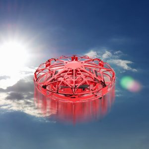 Hand-controlled Flying Ball Drone Infrared Interactive Induction Helicopter Remote Control Drone Квадракоптер С Камерой4k