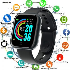 Bluetooth Smart Watch with IOS and Android Support