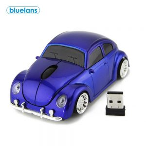 Car Shape Ergonomic 2.4GHz Wireless Gaming Mouse with Receiver for PC Laptop